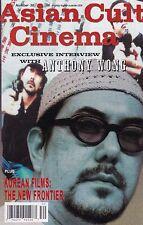 ASIAN CULT CINEMA NUMBER 30 2001 SEX & VIOLENCE IN KOREAN FILM KOREAN STARLETS