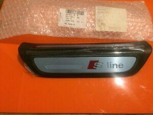GENUINE AUDI Q3 S-LINE 2011-2018 L/H REAR DOOR SILL SCUFF PLATE 8U0853375B9B9