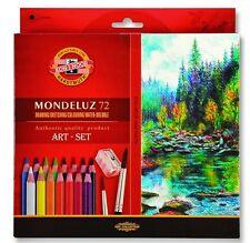 Crayons de couleur, aquarelle 72 COLOURS MONDELUZ KOH-I-NOOR 3714 PRIX SUPER