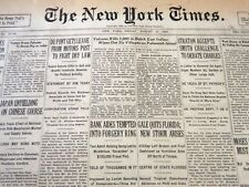 1928 AUGUST 10 NEW YORK TIMES -VOLCANO KILLS 1,000 IN DUTCH EAST INDIES- NT 6440
