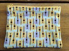 Men's Or Ladies Or Kids Guitar Cotton Coin purse, Money Pouch 14x10cm