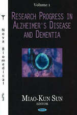 RESEARCH Progress in Alzheimer's Disease and Dementia: 1: v. 1-Nouveau Livre