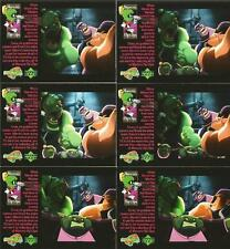 Space Jam The Movie Full 30 Card Marvin's Flip Clips Chase Set from Upper Deck