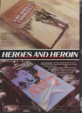 Heroes & Heroin Rank Video Pre-Cert Mag. Advert #1646
