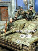 1/35 Resin WWII German Infantryman 3 Soldiers Kit unpainted unassembled