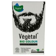 Vegetal Bio Color Beard & Mustache Soft Black Free From Chemical 100g