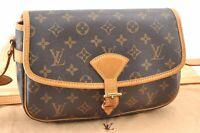 Authentic Louis Vuitton Monogram Sologne Shoulder Bag M42250 LV A7045