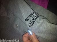 JAGUAR FRAGRANCES POLO SHIRT EXTRA LARGE GREY XL MANS NEW quality t shirt top
