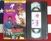 Shrug The Self Doubting Thomas Secret Adventures (VHS) Christian Kids Video Rare