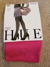 61674fa30a1dd HUE Pink Opaque Tights Pantyhose and Tights for Women for sale | eBay