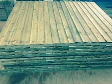 Heavy Duty 6x4 Feather Edge Wood Fence Panels £17.95