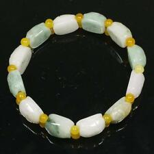 Turtle Back Shell Beads Green Bracelet Real Natural Handmade Type A Jadeite Jade