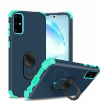 For Samsung Galaxy s20 Plus s20+ s11 6.7inch King Magnetic RingStand Blue Teal