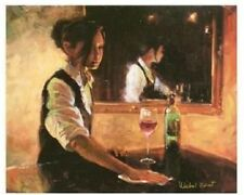 Private Wine Bar by Michael Vincent Limited Edition Giclee on Canvas