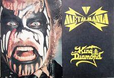 Metalmania 1990   - tour book