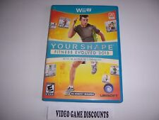 Original Box Case for Nintendo Wiiu Wii U Your Shape