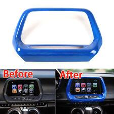 """9""""GPS Navigation Panel Frame Dash Board Outlet Trim ABS For Chevrolet Camaro 17"""