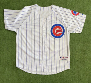 """Chicago Cubs Authentic Majestic MLB """"Byrd"""" #34 Jersey Fits 48"""