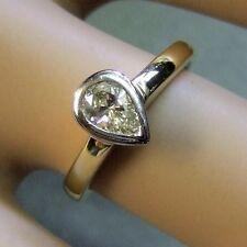 18 ct GOLD second hand diamond ring