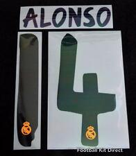 Real Madrid Alonso 14 La Liga Football Shirt Name Set 2013/14 Home Sporting ID
