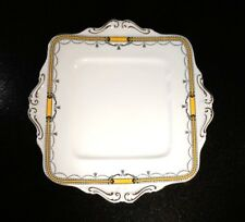 A Beautiful Early Art Deco Paragon Cake Plate