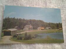 Vintage postcard, PIONEER VILLAGE, DOON, NEAR KITCHENER, ONTARIO.,  CANADA