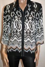 Ricki Renee Brand Black Chiffon Short Sleeve Blouse Top Size 16 LIKE NEW #AN02