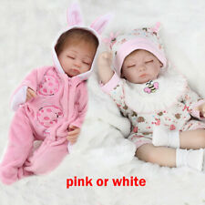 Reborn Baby Dolls Handmade Newborn Babies Vinyl Silicone Boy&Girl Toy Xmas Gift