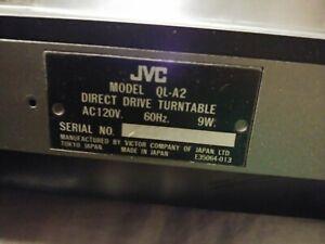 JVC Quartz Lock Vintage Turntable QL-A2