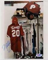 Mike Schmidt Psa Dna Coa Autograph 8x10 Photo Hand Signed Authentic
