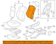 TOYOTA OEM 14-18 Highlander Passenger Seat-Seat Back Pad 715510E090