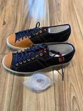 Onitsuka Tiger Badminton 68 Shoes - Navy/Tan - Size 8.5
