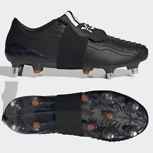 adidas Predator Y3 SG Mens Rugby Boots Black RRP £250 SIZE 8 9 9.5 11 11.5 12 13