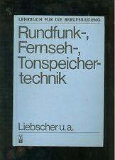 Rundfunk-Fernseh- Tonspeicher-Technik
