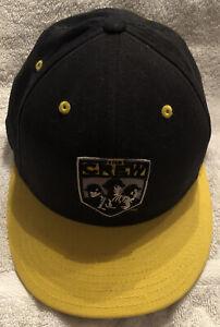 Columbus Crew Adidas MLS Stretch Fit Player Team Logo Soccer Cap Hat