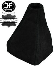 BLACK STITCHING REAL SUEDE MANUAL GEAR GAITER FITS SAAB 93 9-3 SS 2003-2011