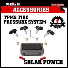 X-BULL Solar Wireless TPMS Tyre Tire Pressure Monitor System+4 Internal Sensors