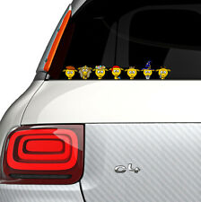Giraffe Gang Full Colour Vinyl Decal Window Sticker Car Bumper Gift Present