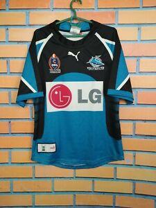 Cronulla Sharks Jersey SMALL Shirt Rugby Puma