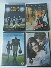 4 Dvd's lot: Friday Night Lights, L.A. Confidential, The Blind Side, Hope Floats