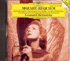 Mozart: Requiem / Bernstein, McLaughlin, Ewing, Hadley - CD