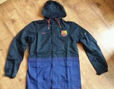 NIKE FC Barcelona 2.0 Authentic Jacket Size M Football Rain Windstoper Coat