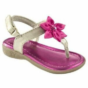 Genuine Kids by OshKosh Infant Girls Allie Sandals Sizes 2 or 4 NWT