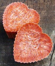 12pk BLOOD ORANGE CITRUS Oil Burner CANDLE WAX MELTS 180hr burn/pack LOVEHEART