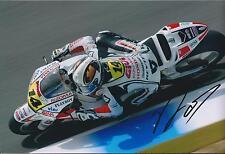 Randy De Puniet Autograph MotoGP HONDA Racing Team SIGNED 12x8 Photo AFTAL COA