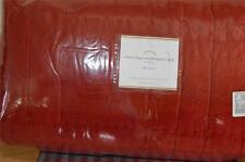 Pottery Barn Velvet Linen Windowpane Quilt. Full-Queen