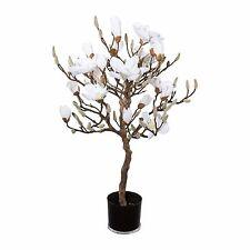 stehende deko blumen k nstliche pflanzen mit magnolie f rs schlafzimmer g nstig kaufen ebay. Black Bedroom Furniture Sets. Home Design Ideas