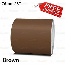 "BROWN 76mm 3"" Roll PIN STRIPE Car Striping Trim Line TAPE Decal Vinyl Sticker"