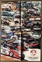 1998 50th Anniversary Holden original Australian sales poster brochure