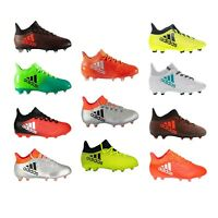 Adidas Football Boots Mens Boys Kids Techfit Soccer FG X 16 X 17